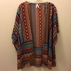 Liv 4 Truth: Aztec Caftan Kimono